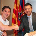 FÚTBOL: El Barcelona buscará ampliar el contrato a Messi