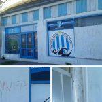 NECOCHEA: Repudio por ataque a la filial del Racing Club