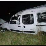 NECOCHEA: Cinco heridos en un vuelco en la ruta 228