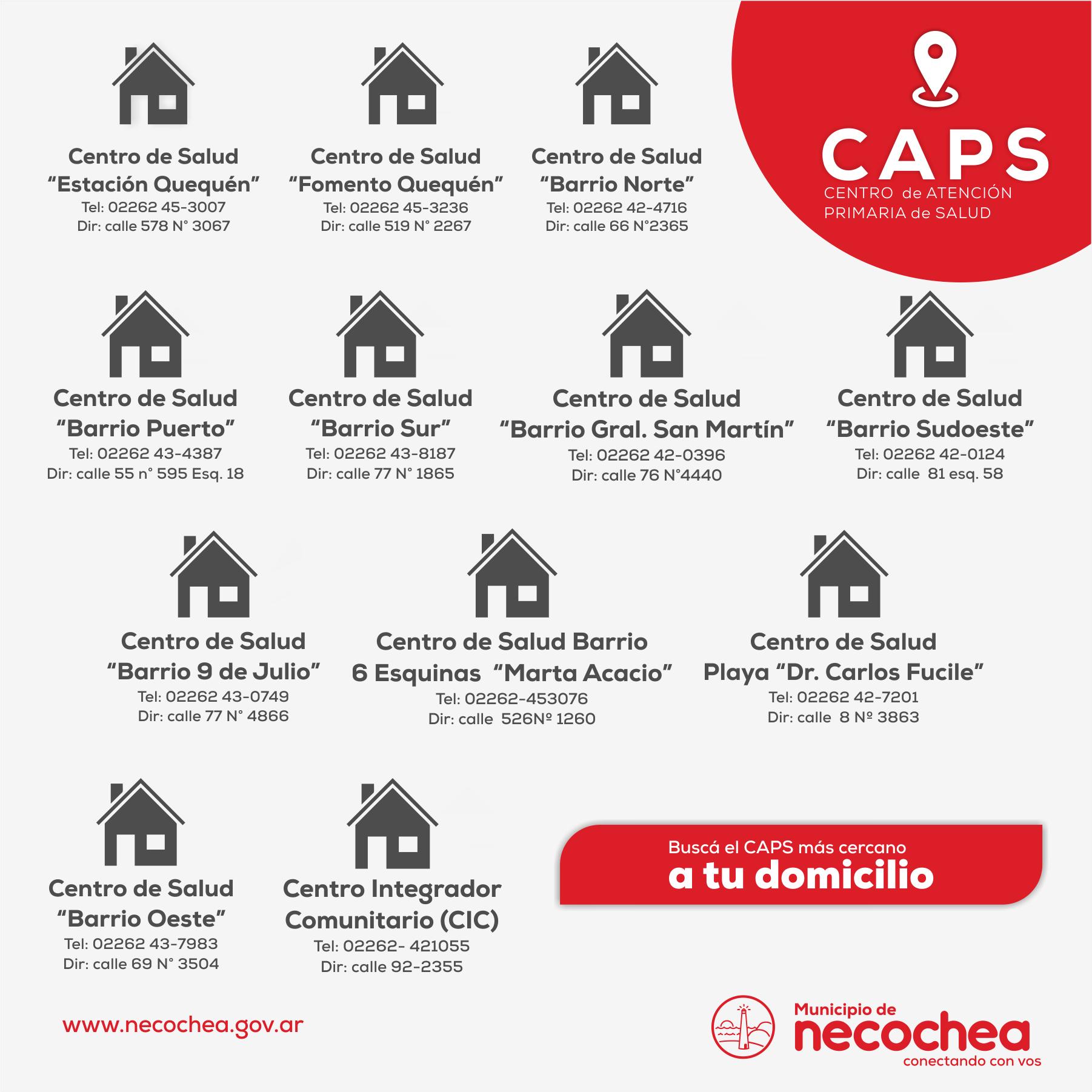 NECOCHEA: Comenzó la campaña de Vacunación Antigripal en el distrito