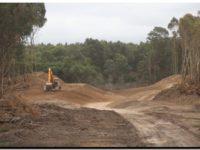 LOBERÍA: Avanza la obra hidráulica