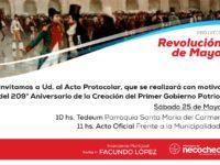 NECOCHEA: Este sábado se festeja un nuevo aniversario de la Revolución de Mayo