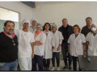 NECOCHEA: Visita al Taller de Alimentación de la Escuela Técnica Nº 2