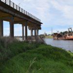 PUENTE EZCURRA: Siguen los avances hacia su reconstrucción