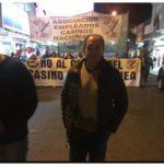 NECOCHEA: Rago sigue acompañando la lucha de los casineros