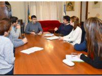 NECOCHEA: López recibió a autoridades de Genneia