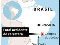 BRASIL: Al menos 17 muertos en un accidente vial en el sudeste