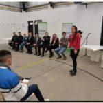 CIENCIA: Elustondo y Ferrari participaron del cierre de mediadores en la Unidad 57 del Penal de Campana
