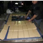 POLICIALES: Desbaratan banda narco