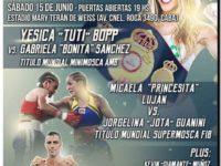 BOXEO: Jorgelina defiende por 1ra ves su Título Mundial