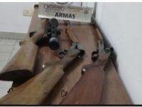 POLICIALES: Tenencia ilegal de armas de fuego
