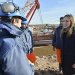 OBRAS: La gobernadora recorrió el Plan del Río Colorado