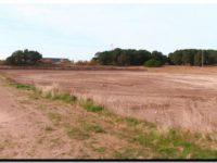 NECOCHEA: Sigue la construcción de la pista de atletismo
