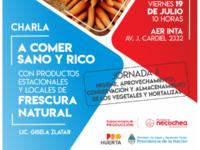 "NECOCHEA: Se viene la segunda jornada del taller ""A comer Sano y Rico"""