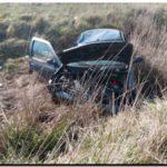 POLICIALES: Marplatenses volcaron su automóvil en la ruta 228
