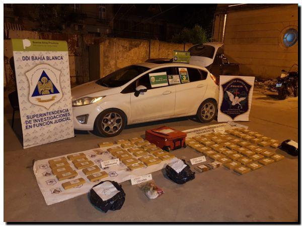 POLICIALES: Secuestro de droga más grande logrado en Tres Arroyos