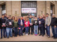 ELECCIONES 2019: El equipo de La Lista de la Gente en Juan N. Fernández y Claraz