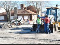 NECOCHEA: Repavimentación en las calles del microcentro