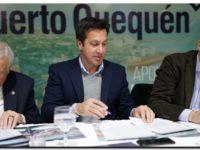 PUERTO QUEQUÉN firmó el Acuerdo para la Financiación de la Reconstrucción del Puente Ezcurra