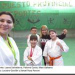 DEPORTES: Excelente perfomance de karatecas del Centro de Formación Kinética