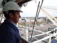 """PORTUARIAS: Rojas: """"Puerto Quequén avanza hacia la exportación de contenedores"""""""