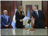 PROVINCIA: Vidal tomó juramento a Damián Bonari como ministro de economía