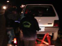 Llevaban a Tres Arroyos un auto adulterado para correr picadas