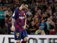 Messi se perdería los tres próximos partidos del Barcelona