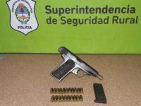 Detenido por portación de arma