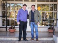 Arturo Rojas junto a Gargaglione por un desarrollo regional