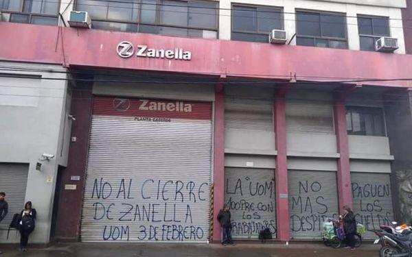 Zanella despidió a 70 trabajadores de su planta en Tres de Febrero