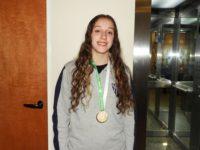 La basquetbolista Delfina Brost le dio el primer oro a Necochea en Bonaerenses