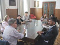 Visitó Lobería el director provincial de consejos escolares