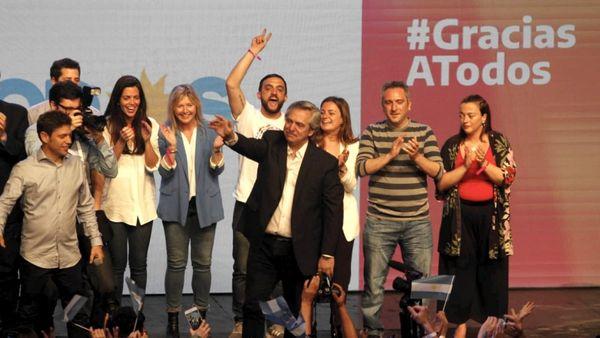 Alberto Fernández es el nuevo presidente