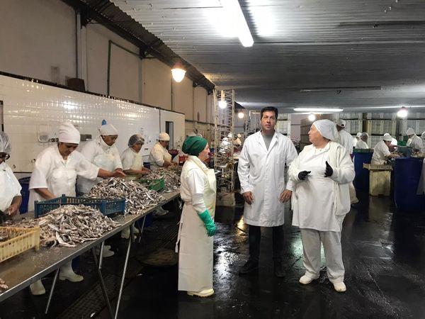 """Rojas: """"La pesca tiene que volver a ser un polo de desarrollo laboral para el Distrito"""""""