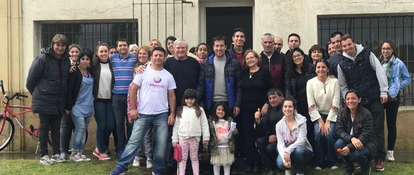 """Rojas en Santamarina: """"debemos revalorizar el interior de nuestro Distrito"""""""