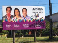Juntos por al Cambio retira los carteles de campaña. Agresiones y pintadas