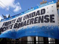 Docentes bonaerenses vuelven a reclamar por la cláusula gatillo