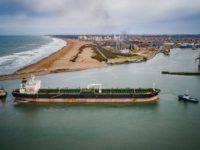 Puerto Quequén aumentó un 29 por ciento sus exportaciones agroindustriales