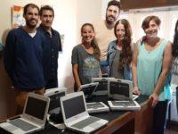 Se entregaron ocho netbooks al programa Envión