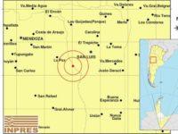 Un sismo de 6,3 en la escala de Ritcher se registró entre San Luis y Mendoza
