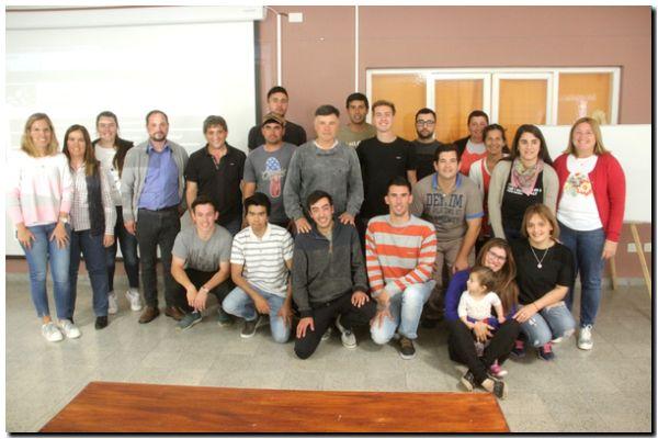 Alumnos culminaron la primera diplomatura en Lobería
