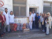 Entrega de insumos para el Hospital Ferreyra