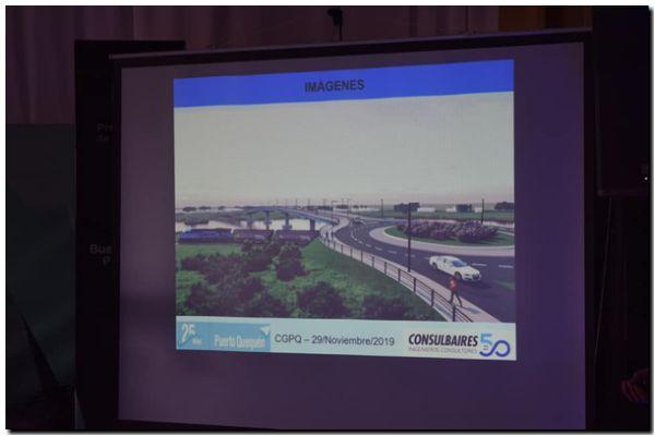 La reconstrucción del Puente Ezcurra. Casi 9 millones de dólares