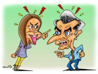 Sale con fritas… Humor político