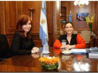 Cristina Kirchner y Gabriela Michetti acordaron no meterse en el tema de la jura