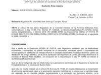 Publicamos la Resolución de la  OCEBA. Gentileza de la OMIC