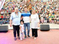 "Rojas cerró el Festival Infantil: ""Este va a ser el último en que se le pida perdón"""
