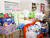 Presentaron donaciones de insumos y aparatología para el Hospital Ferreyra
