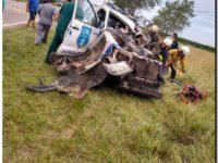 Accidente en Ruta 88